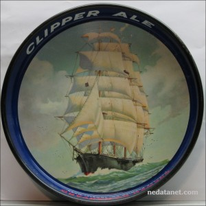 Clipper Ale Beer Tray
